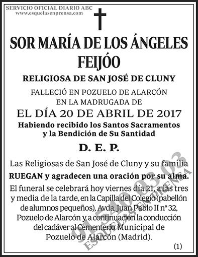 María de los Ángeles Feijóo